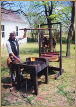 Photograph of blacksmith
